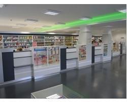 Lékárenský a interiérový nábytek