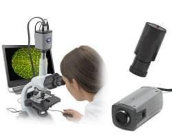 Videokamery pro mikroskopy