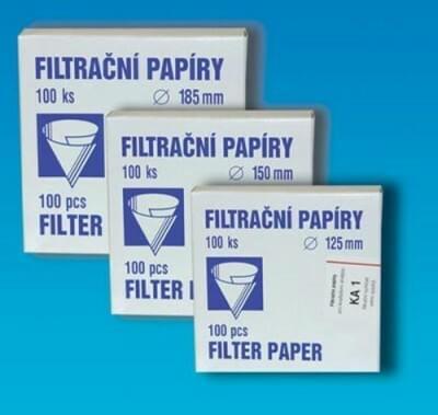 Papír filtr. kvalitativní, kruh. výsek, průměr 200 mm
