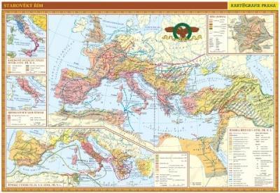 Starověký Řím - nástěnná mapa