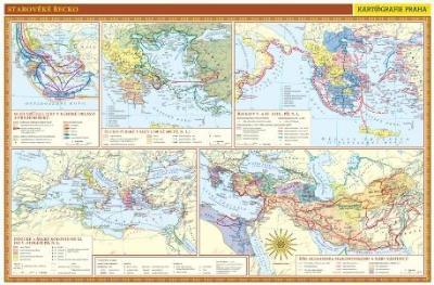 Starověké Řecko - nástěnná mapa