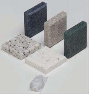 Corian (umělý kámen) 50 × 50 × 12mm