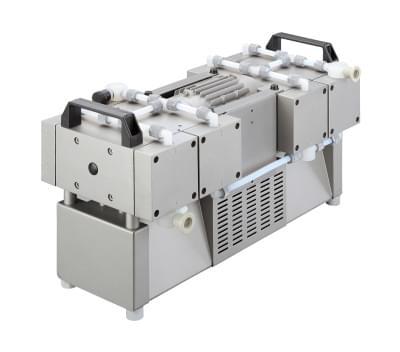 411781-02 - Membránová vývěva MP 2401 E, 230/400V, 50/60Hz