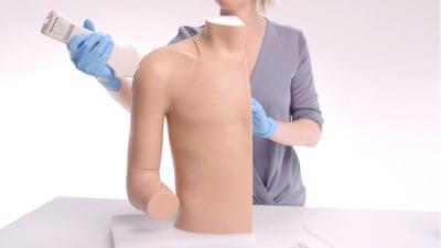 70202 - Trenažér pro zavedení injekce do ramene pod ultrazvukem