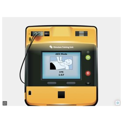 8000970 - Simulátor obrazovky pacientského monitoru LIFEPAK® 1000 pro REALITi360