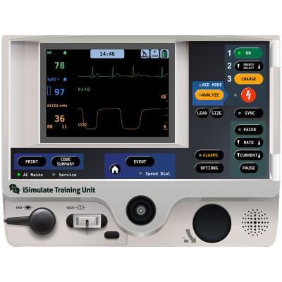 8000972 - Simulátor obrazovky pacientského monitoru LIFEPAK® 20 pro REALITi360