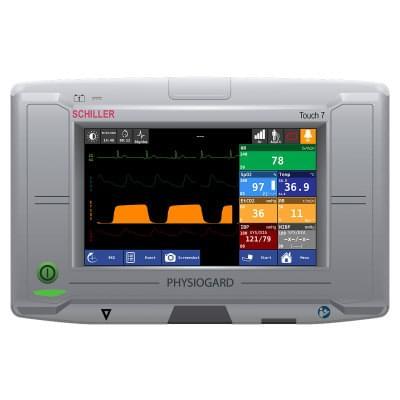 8001001 - Simulátor obrazovky pacientského monitoru Schiller PHYSIOGARD Touch 7 pro REALITi360