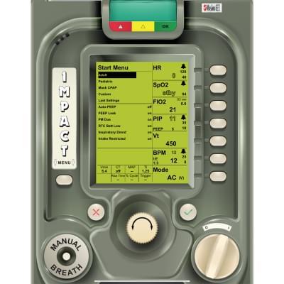 8001016 - Simulátor obrazovky ventilátoru ZOLL EMV+® pro REALITi360