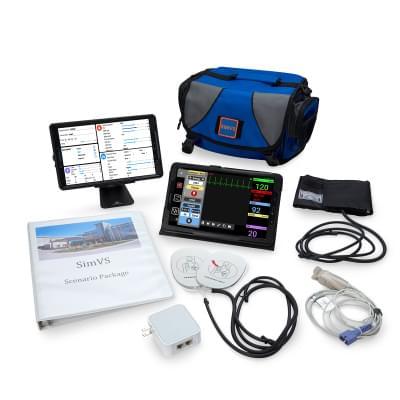 800102109 - SimVS simulační platforma - SimVS nemocniční monitor a defibrilátor