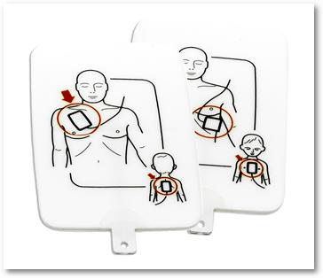 Náhradní elektrody - dospělý/dítě (sada 4 ks)