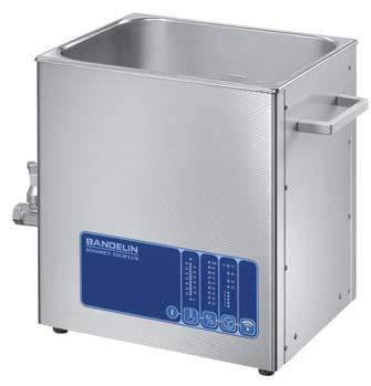 DL512H - Ultrazvuková lázeň DL 512 H