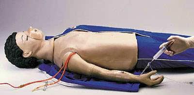 LF03214 - Paže pro nácvik injekce pro resuscitační figuríny