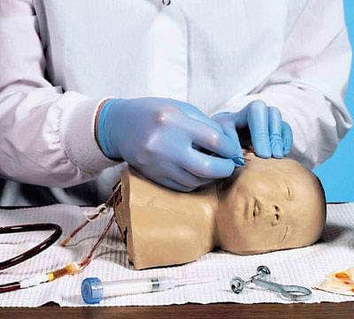 LF00999 - Simulátor dětské hlavičky pro aplikaci injekce