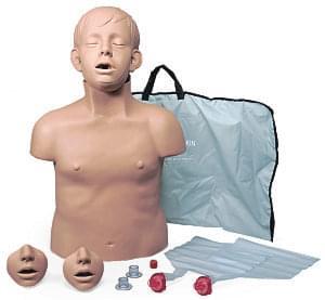 PP02271 - Brad Jr.- figurína sedmiletého dítěte s přenosným vakem