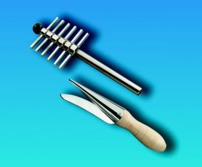 Korkovrt - sada trubkových nerez nožů  k vrtání otvorů do korku a pryže, 9 nožů
