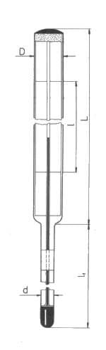 Technický teploměr - typ 240, přímý