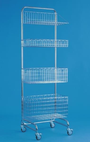 Modulový úložný systém jednostranný - rám modulový pojízdný