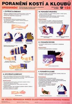 Poranění kostí a kloubů