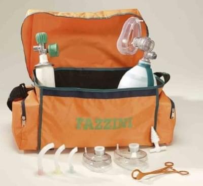 MEDICAL BAG - Resuscitační sada v tašce s lemováním z PVC