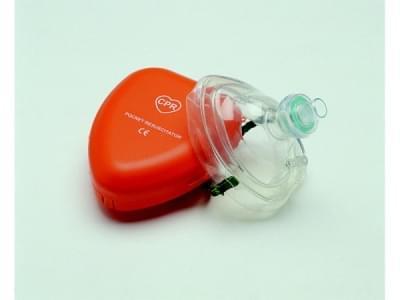 E-MASK - maska pro první pomoc při dýchání z úst do úst