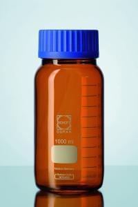 Láhev širokohrdlá hnědá, GLS 80 DURAN, 1000 ml