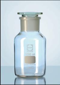 Láhev reagenční se zabroušenou zátkou DURAN, širokohrdlá, čirá, 250ml