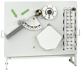Mechanický set k bílé magnetické tabuli