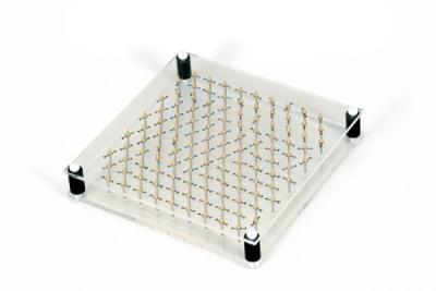 Model šestibokého magnetu
