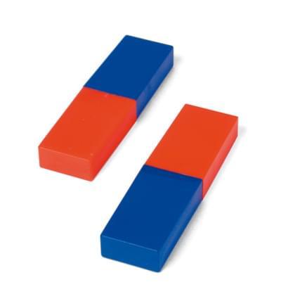 Pár tyčových magnetů, 80 mm