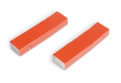 Pár tyčových magnetů AlNiCo, 60 mm se dvěma železnými jádry