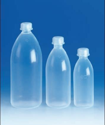 Láhev, úzkohrdlá, PFA, 100 ml