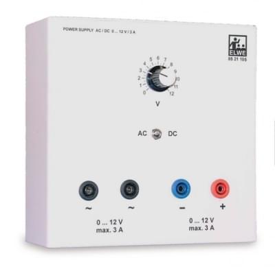 AC / DC Napájecí zdroj 0 - 12 V, 4 A (230 V, 50 / 60 Hz)
