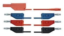 Sada kabelů pro pokusy s elektronkami