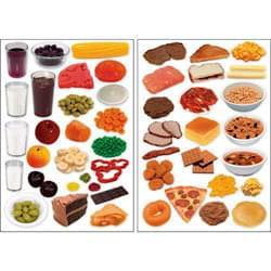 Doplňkové listy samolepících jídel
