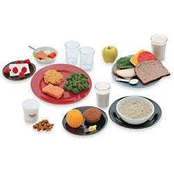 Sada replik doporučeného denního příjmu kalorií