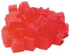 Kostky melounu