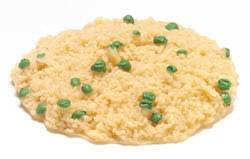 Smažená rýže s hráškem