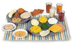 Vhodná strava pro děti ve věku 1 - 3 roky