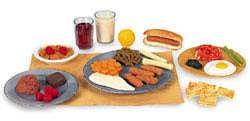 Vhodná strava pro děti ve věku 4 - 10 let
