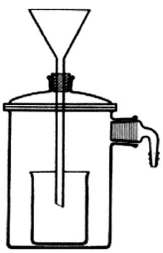 Zařízení filtrační podle Witta, průměr 70 mm