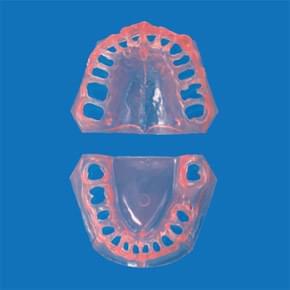 Náhradní dáseň pro PER2002-UL - transparentní růžová