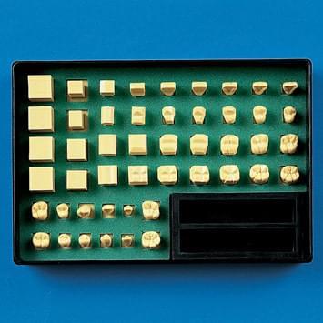 Sada k modelování zubů C11-TU.1