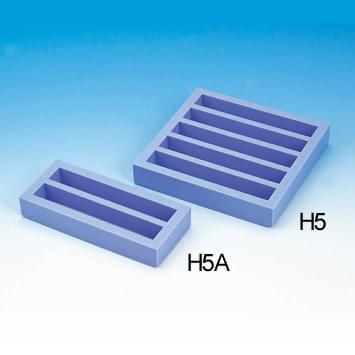 Gumová forma na sádrové kvádry k modelování zubů H5 (na 5 kvádrů)