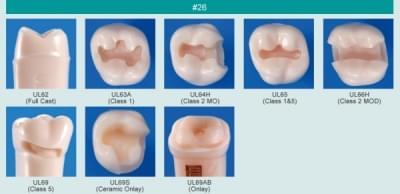 Model zubu pro přípravu pilíře můstku a čištění zubu před výplní (zub č. 26)