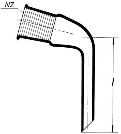 Předloha destilační s NZ 29/32 (alonž)