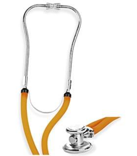Fonendoskop typ Rapport - oranžová hadička