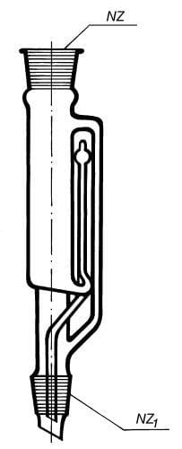 Nástavec extrakční dle Soxhleta k přístroji dle Soxhleta, 100 ml