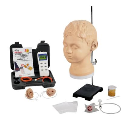 LF01066 - Diagnostický a procedurální ušní trenažér s pneumatickou otoskopickou sadou
