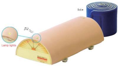 Nácviková podložka pro akupunkturu (se světelnou kontrolkou a bzučákem)