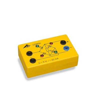 3B krabička s LED Graetzovým můstkem